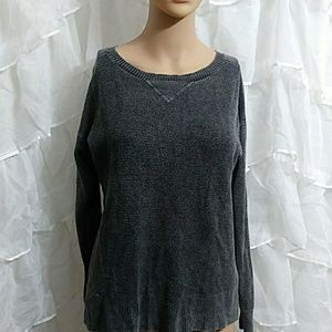New AMERICAN EAGLE Distressed Sweater Q48